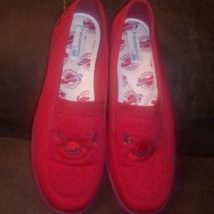 2 for $30 Ked's Red Hat Society shoes 5 1/2